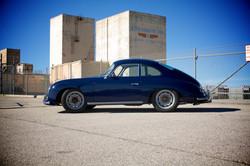 CUSTOM dark blue coupe side