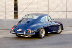 CUSTOM dark blue coupe