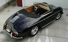 JPS Classic 356 Speedster replica super nipple hub caps