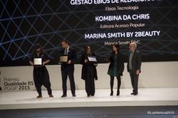 Kombina vence prêmio do PGQP