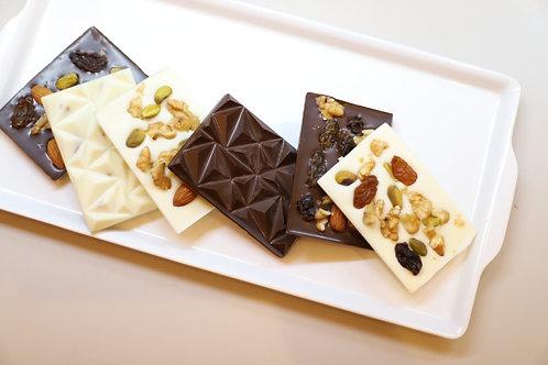 Barra de Chocolate com Nuts
