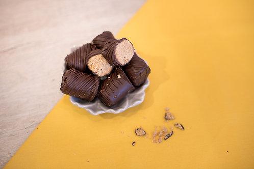 Paçocas envoltas em Chocolate