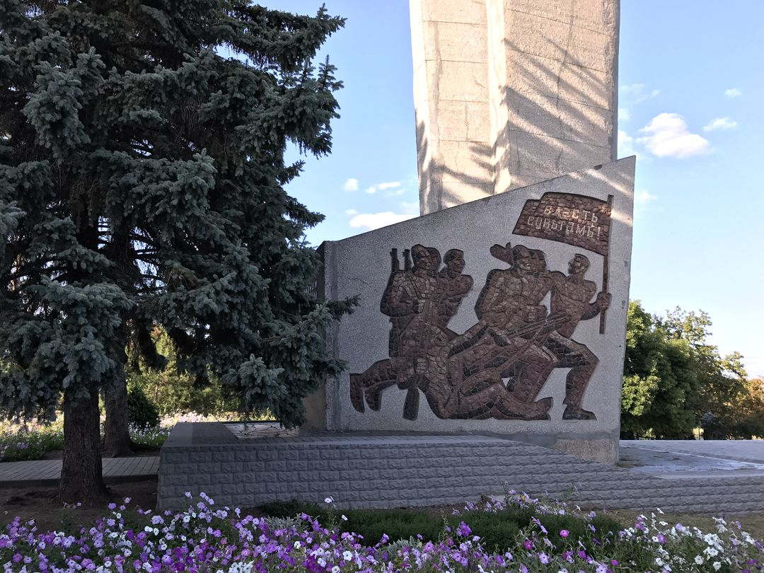 Bendery Uprising monument