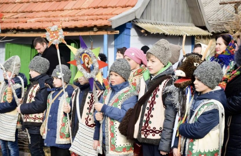 Ethnic village celebration