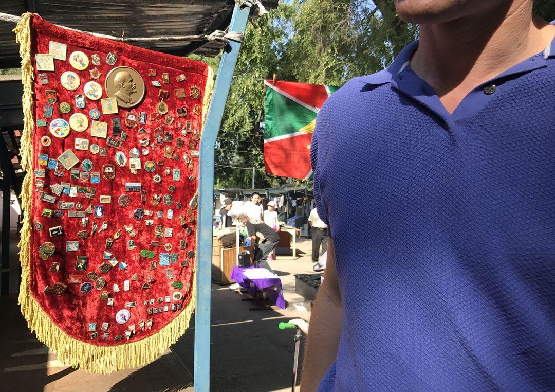 Tiraspol flea market