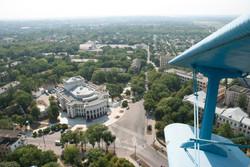 Tiraspol theatre aerial view