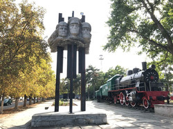 Railway workers monument