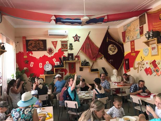 Soviet Canteen in Bendery