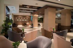 Russia hotel lobby