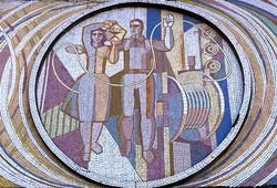 Cable plant entrance mosaic