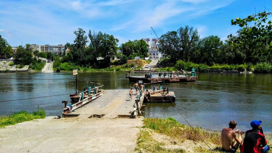 Tiraspol Pontoon Ferry