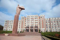 Lenin statue & Parliament