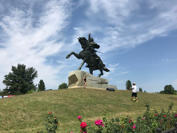 Suvorov monument