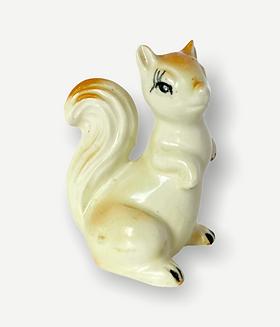 Ceramic Squirrel • JAPAN