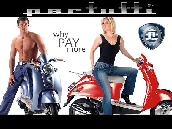 Pertutti Motor Scooter