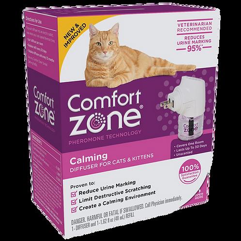 Comfort Zone Difusor De Feromonas P/ Gatos Reduce El Estrés