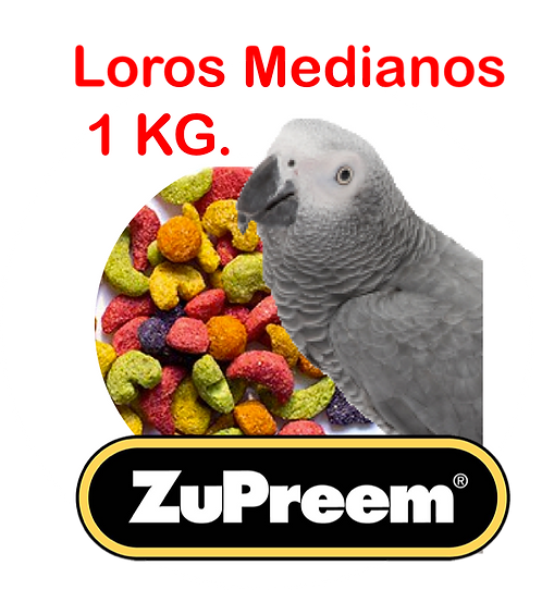 Granel Zupreem Loro Mediano 1 kg