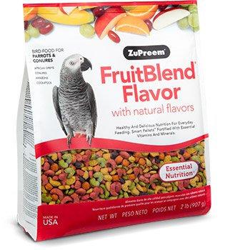 Alimento Zupreem Fruitblend Loros Medianos 907g