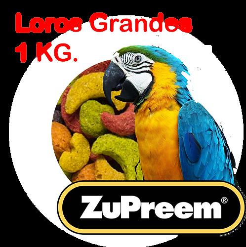 Granel Zupreem Loros Grandes y Guacamayas 1 kg