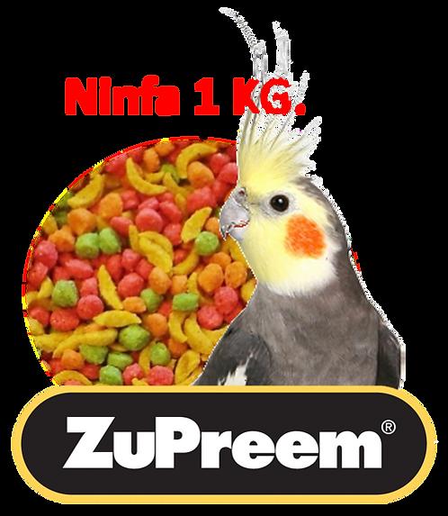 Granel Zupreem  Ninfa 1 Kg.