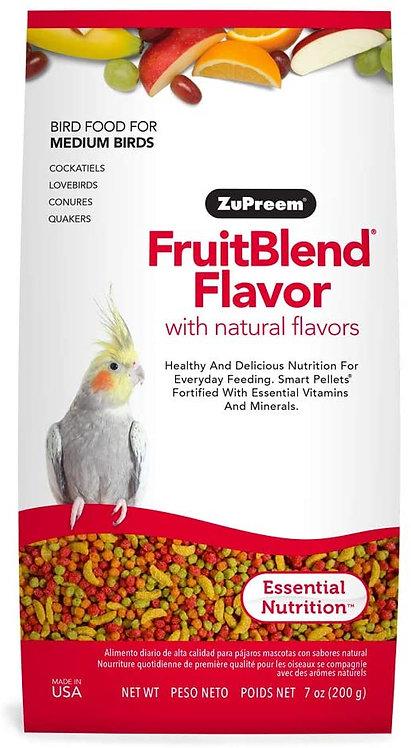Alimento Zupreem Fruitblend Ninfas Y Agaporni 200g