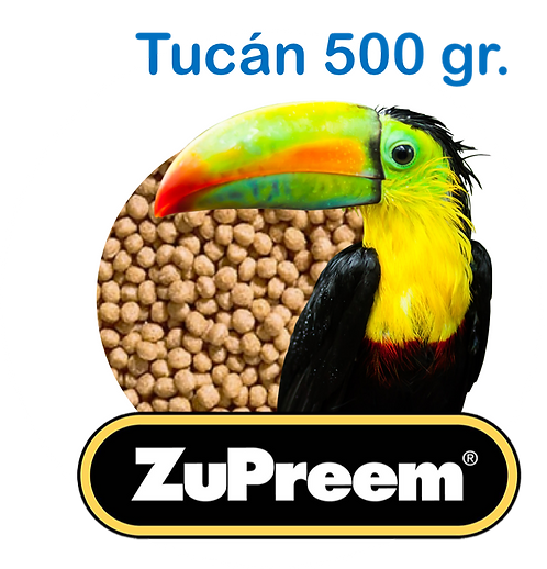 Granel Zupreem Tucan 500gr.
