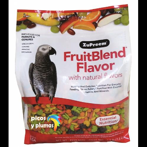 Alimento Zupreem Fruitblend Loros Medianos 1.58kg
