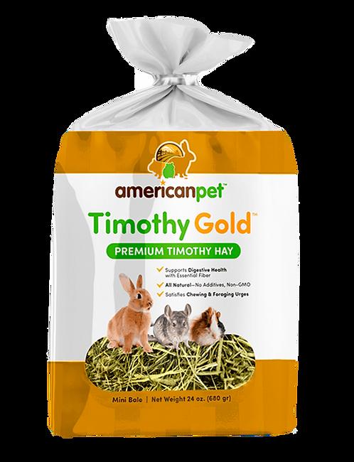 Heno De Timothy American Pet High Fiber, Chinchill