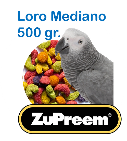 Granel Zupreem Loro Mediano 500gr.