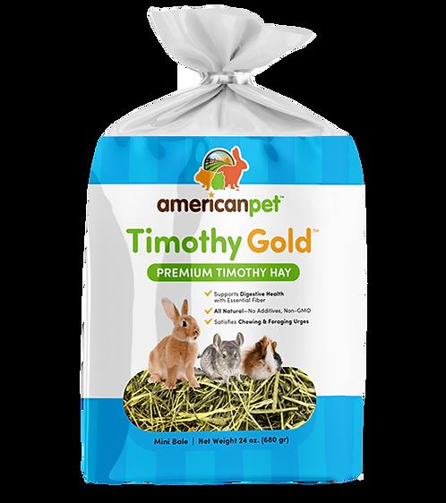 Heno de Timothy American Pet Gold Peq. Mamìferos