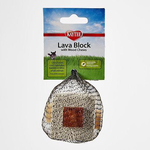Mordedera Lava Block Para Pequeño Mamífero