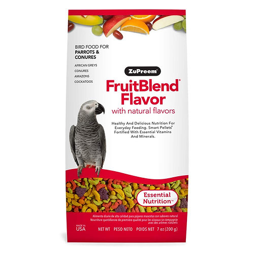 Alimento Zupreem Fruitblend Loros Medianos 200 gr