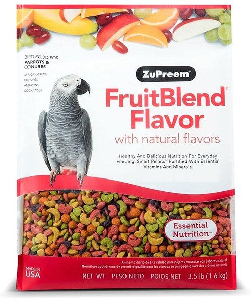 Alimento Zupreem Fruitblend Loros Medianos 1.6 kg