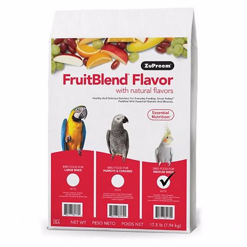 Alimento Zupreem Fruitblend Ninfa 7.94 kg