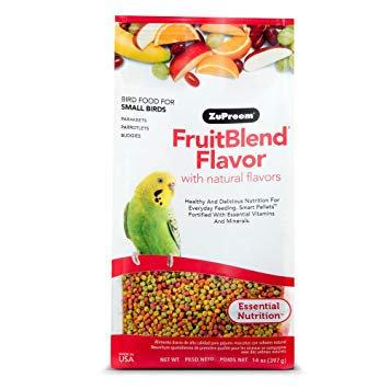 Alimento Zupreem Fruitblend Periquito  397g
