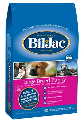 Bil-Jac Cachorro Raza Grande 30 lb