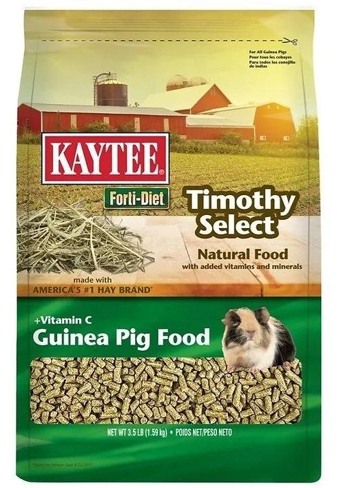 Alimento Para Cuyo Kaytee Timothy Select
