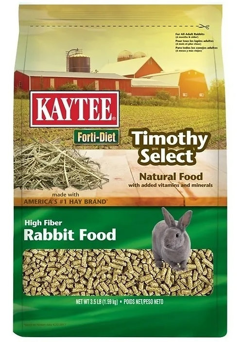 Alimento Para Conejo Kaytee Timothy Select