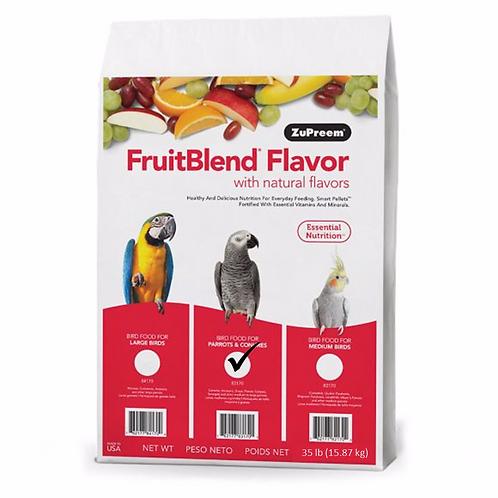 Alimento Zupreem Fruitblend Loros Conuros 35 Lb