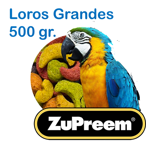 Granel Zupreem Guacamaya 500gr.