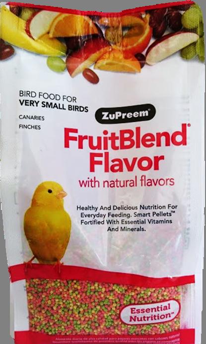 Alimento Zupreem Fruitblend Canario y Finches 397gr