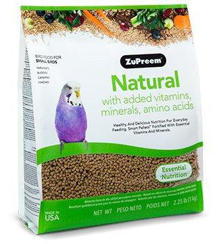Alimento Zupreem Natural Periquito Australiano ( 2.25lb) 1kg