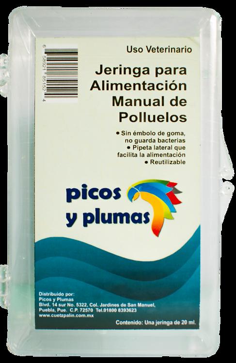 Jeringa P Alimentación Con Papilla Para Loros Y Otras Aves