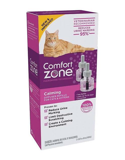 Comfort Zone Repuesto P/difusor  De Feromonas P/gatos 2 Pack