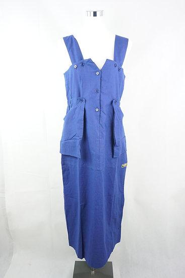 """Fliegerin!""-  blaues Kleid"