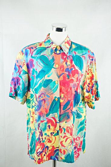 Vintage Kunst! Sommer Bluse