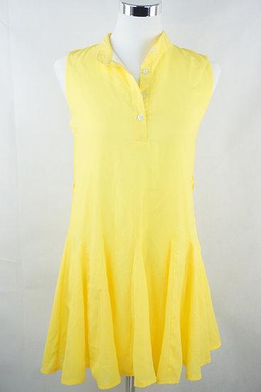 """""""Lemon Baby!"""" - Zitronengelbes Tennis Kleid"""