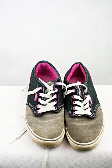 """""""Skateboarders"""" - Vans grau , schwarz, lila"""