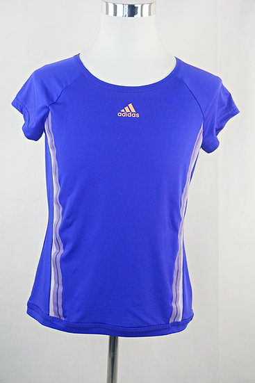 """Joggen mit Hund"" Lila Sport Damen T-Shirt"