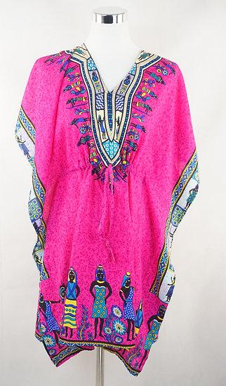Dashiki Rose Kleid ! - Afrikanisch